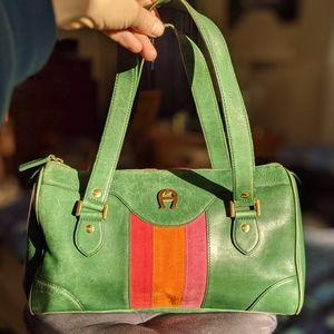 Eteinne Aigner Vintage Handbag #hundredsofscarves